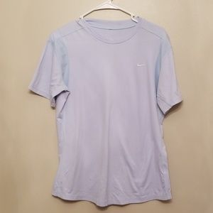Nike ~ Fit Dry Light Blue Short Sleeve Tshirt